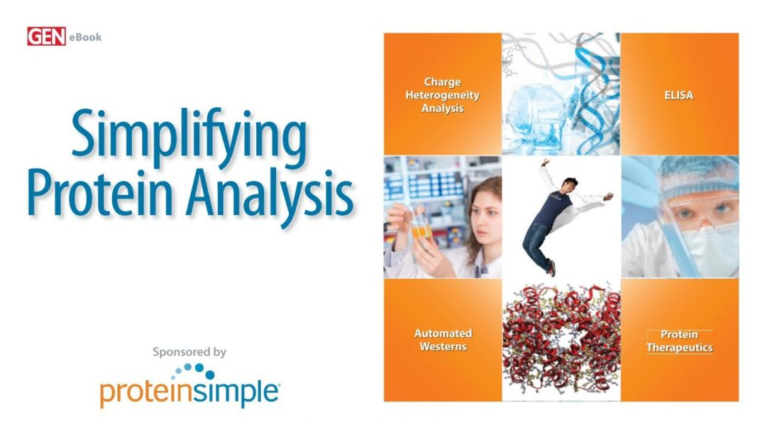 Simplifying Protein Analysis eBook Cover