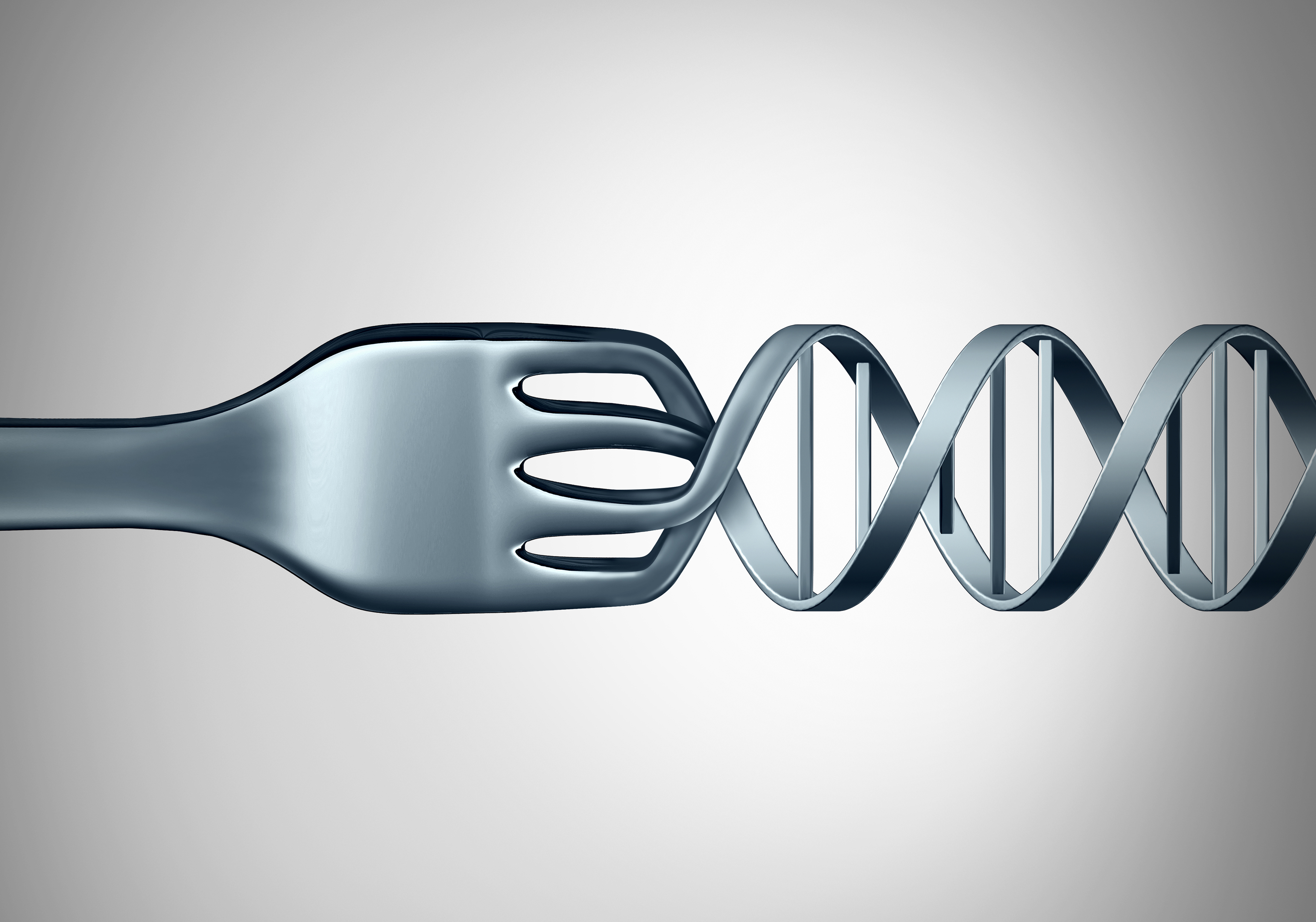 Researchers found that variations in certain genes play a significant role in a person's food choices and dietary habits. For example, higher chocolate intake and a larger waist size was associated with certain forms of the oxytocin receptor gene, and an obesity-associated gene played a role in vegetable and fiber intake. Other genes were involved in salt and fat intake. [wildpixel\Getty Images]