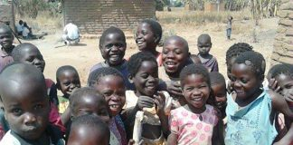Malawian children [Dr. Carina King]