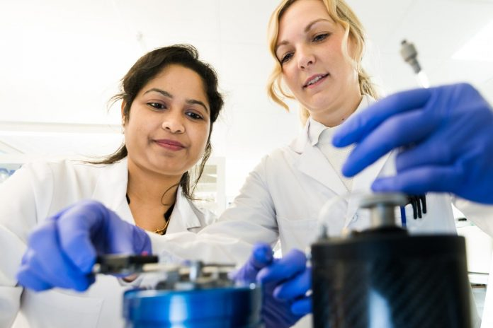 A research team at Linköping University found more amyloid beta in exosomes from brains affected by Alzheimer's disease. [Thor Balkhed/Linköping University]
