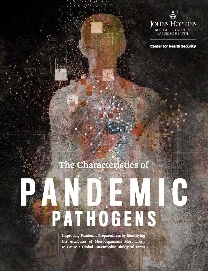 Researchers at the Johns Hopkins Center for Health Security find that a potential global catastrophic risk-level pandemic pathogen will most likely have a respiratory mode of transmission.