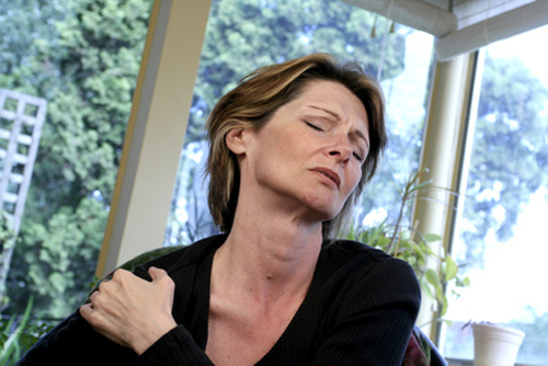 Fibromyalgia is characterized by chronic widespread pain and allodynia as well as other symptoms like debilitating fatigue