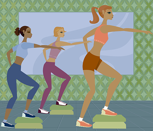 Data from a new study finds that exercise releases a hormone that helps the body shed fat and keeps it from forming.[Melanie Taylor/Getty Images]