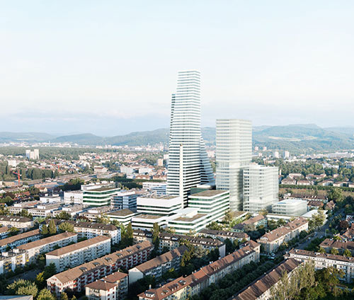 Roche plans to build a new R&D center and office building