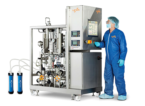 Continuous Bioprocessing Skips a Beat