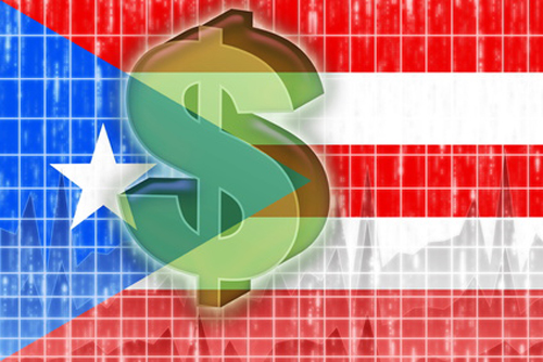 Flag of Puerto Rico finance economy