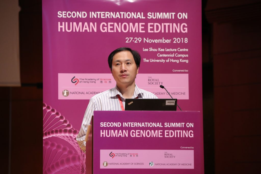 He Jiankui/Human Genome Editing summit