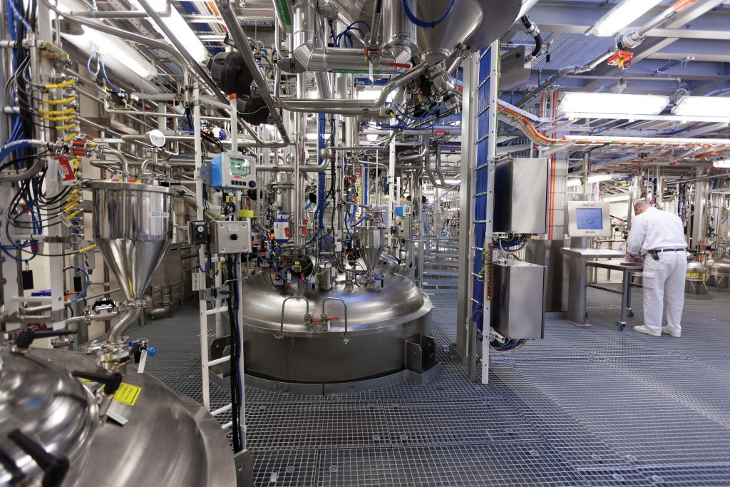 GE Healthcare production facility