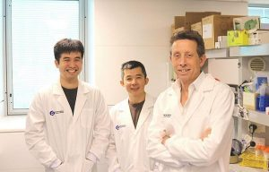 Dr Weng Hua Khoo, Associate Professor Tri Phan and Professor Peter Croucher