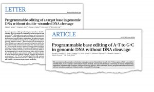 Two key papers in Nature
