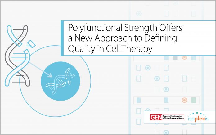 Polyfunctional Strength Offers a New Approach to Defining Quality in Cell Therapy