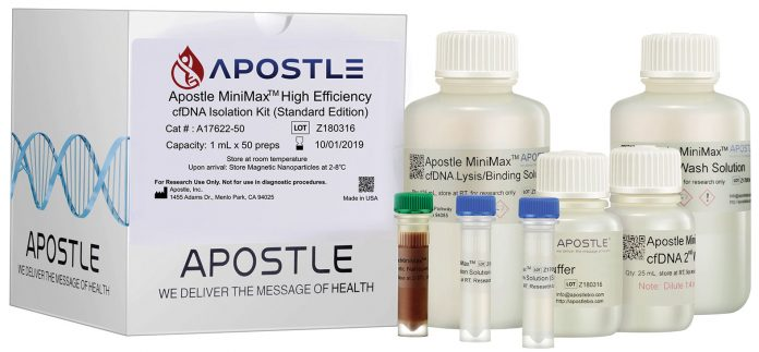 Apostle MiniMaxTM High Efficiency Cell-Free DNA Isolation Kit