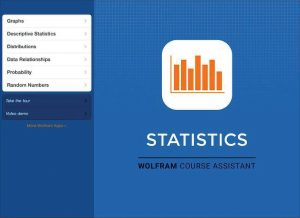 Wolfram Statistics Course Assistant app
