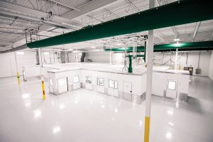 G-CON Manufacturing's prefabricated, autonomous cleanroom PODs