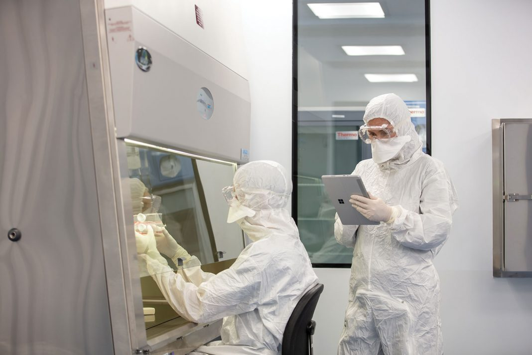CCRM's Centre for Cell and Vector Production