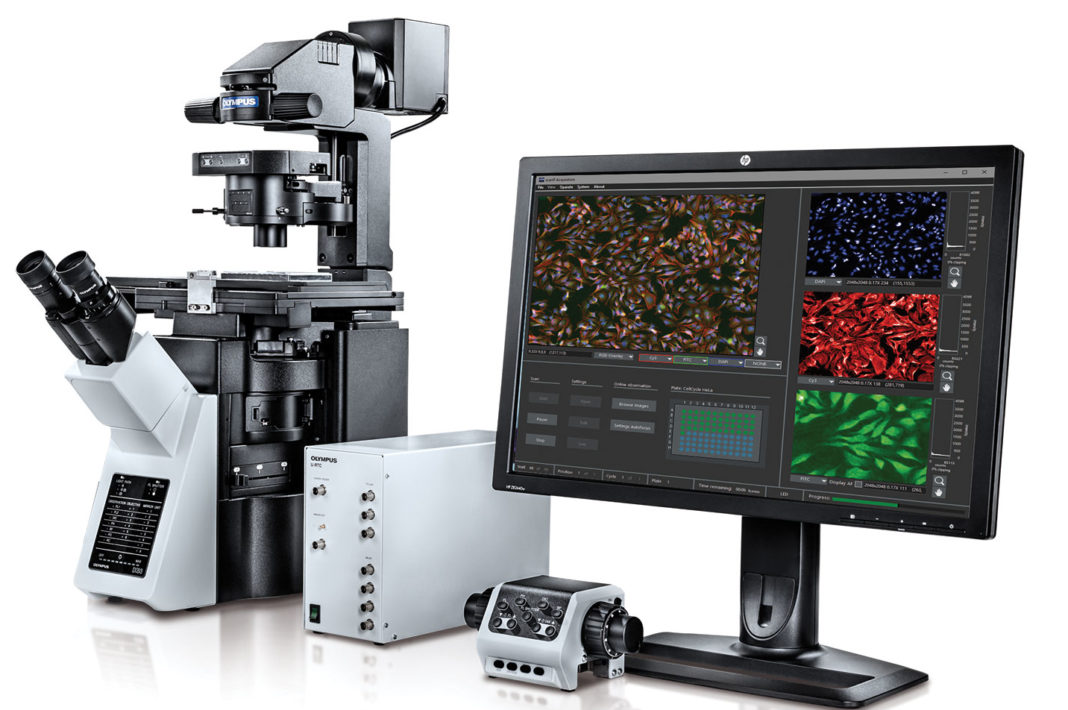 Olympus scanR 3.1 high-content screening station
