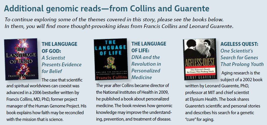 Additional genomic reads—from Collins and Guarente