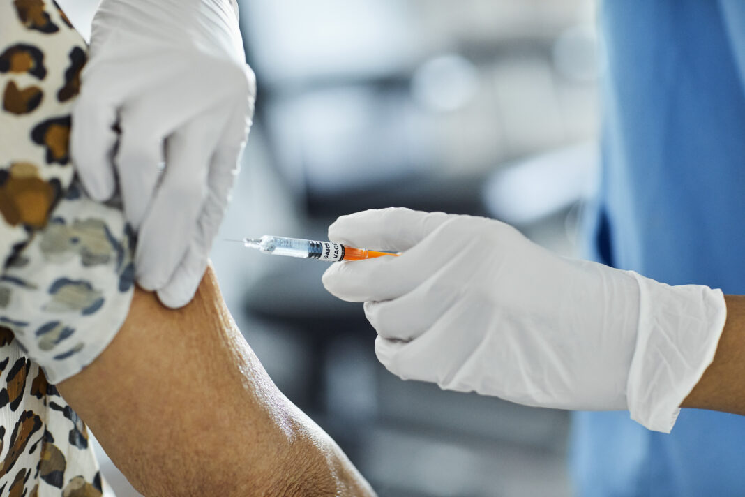 Spanish Hospital Administers Some Of The Country's First Covid-19 Vaccination Shots