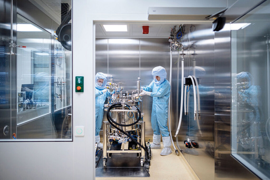 BioNTech facility in Europe