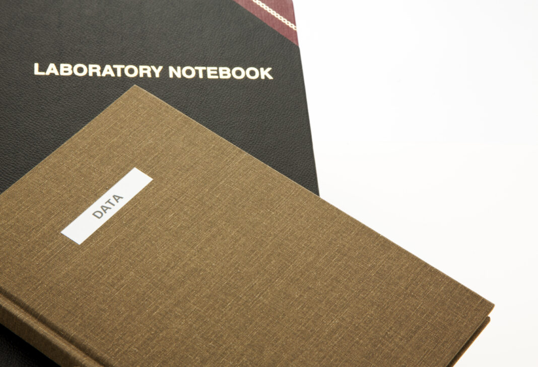 Data and Laboratory Notebook reflect science based research success and integrity